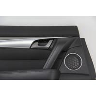 Acura TL Rear Left/Driver Door Panel Lining Trim Black  OEM 09-11
