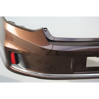 Honda Accord Coupe V6 13 14 15 Rear Bumper Cover Assembly Dual Exhaust Bronze