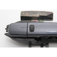 Infiniti G37 Coupe Exterior Door Handle w/Bracket Gray Charcoal Right OEM 08-13