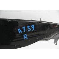Infiniti G37 Sedan Fender Panel Front Right/Passenger Black OEM 08-13