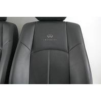 Infiniti G37 Sedan 09, Front Left Right Seat Set Black OEM 2009