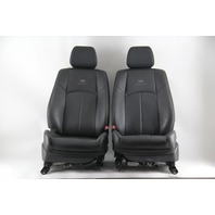 Infiniti G37 Sedan 09, Front Left Right Seat Set Black OEM 2009
