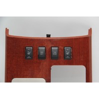 Infiniti QX56 Shifter Bezel Woodgrain w/Heated Seat Switch OEM 04-07