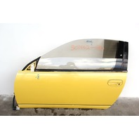 Nissan 300ZX Coupe 90-91 Front Left Driver Door Assy, Power, Yellow OEM
