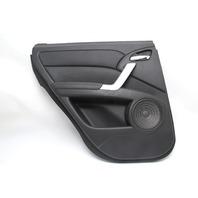 Acura RDX 07-12 Rear Left/Driver Side Door Panel Black OEM 67550-STK-A90ZZ