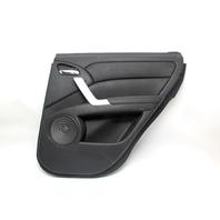 Acura RDX 07-12 Rear Right/Passenger Side Door Panel Black OEM 83720-STK-A02