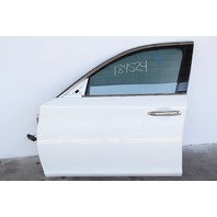 Infiniti M37 Sedan Front Door, Left Side Electric White, OEM 11-13 2011-2013