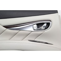 Infiniti M37 Sedan 11-12 Rear Left Door Panel, Grey 82901-1MA0C