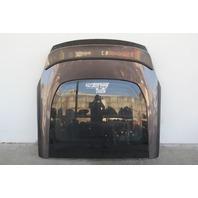 Nissan 370Z Trunk Deck Lid Lift Gate w/Spoiler Gray 37000-1EA0A OEM 09-17
