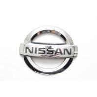 Nissan 350Z 03-09 Rear Trunk Lift Gate LOGO EMBLEM (NISSAN) 84890-CD000