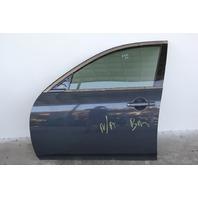 Infiniti G37 Sedan Front Door, Left Side Electric Grey, OEM 08 09 10 11 12 13