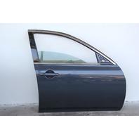 Infiniti G37 Sedan 08-13 Front Door, Right Side Electric Grey, OEM