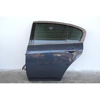 Infiniti G37 Sedan 08-13 Rear Door, Left Side Electric Grey, OEM