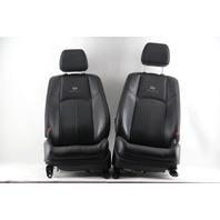 Infiniti G37 Sedan 11-13 Front Left / Right Seat Set Black OEM 2012