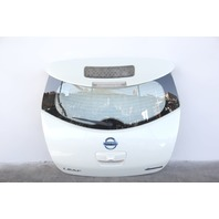 Nissan Leaf Rear Trunk Lid Gate Door Assembly White K010M-3NAMB OEM 2012