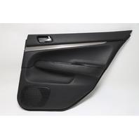 Infiniti G37 Sedan 09-12 Door Panel, Rear Right Side Black 82900-1NF4B OEM