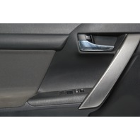 Scion tC Left/Driver Side Door Panel Black/Gray Cloth OEM 2011 12 13 14 15 16
