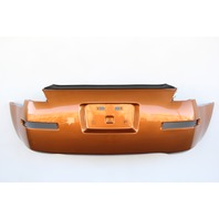 Nissan 350Z 03-09 Rear, Bumper Face Cover, Orange HEM22-CF41H