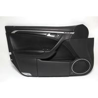 Acura TL Front Left Door Panel Lining Trim Black 83586-SEP-A01ZA, OEM 04-06