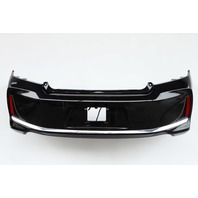 Honda Accord Coupe 16-17 Rear Bumper Cover Assembly Single Exhaust Black OEM
