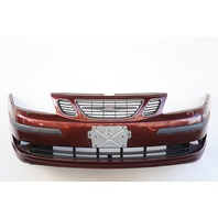 Saab 9-3 Sedan 2004 Front Bumper Face Cover Burgundy Full Assembly 12788061 OEM