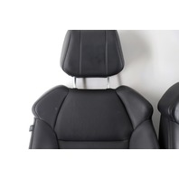 Acura MDX Front Seat Left Driver and Right Passenger Set Pair Black, 07 08 09 OEM