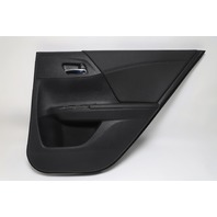 Honda Accord Sedan Rear Door Panel Trim Right/Passenger Black OEM 2013-2017