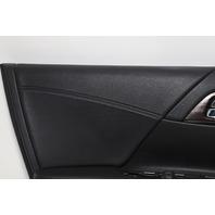 Honda Accord Hybrid Front Door Panel Trim Left Black 83550-T2A-P53 OEM 2017
