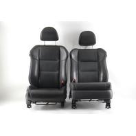 Acura RDX 07-08 Front Left/Driver Right/Passenger Seat Black Leather Set OEM