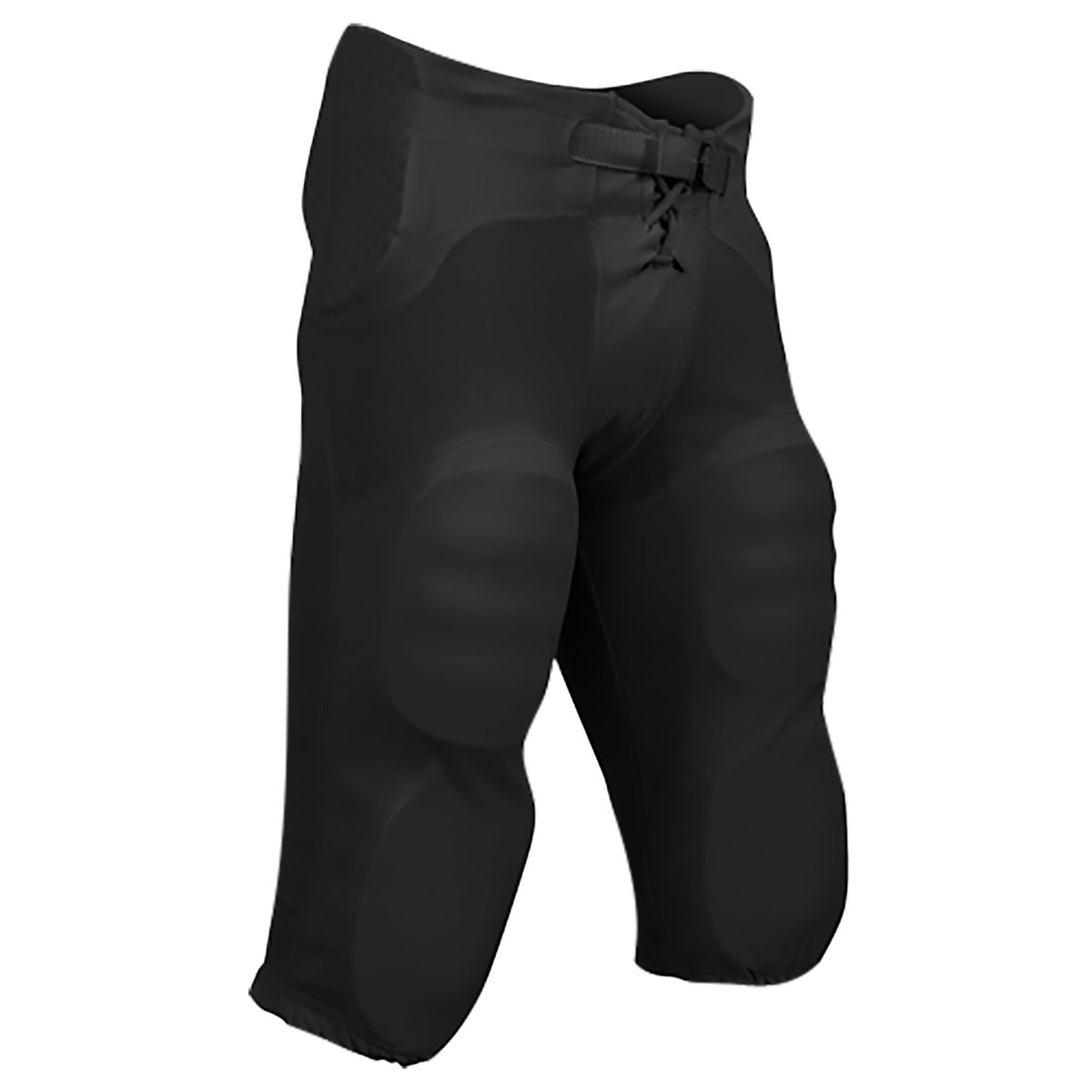 Built-In Pads BLACK Game Pants Champro Football ADULT Integrated Practice