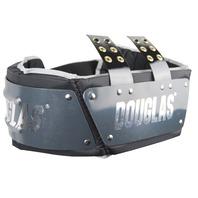 Black//White Douglas Football Adult//Junior Adjustable 4 Destroyer-2 D2 Rib Pad Protector Combo