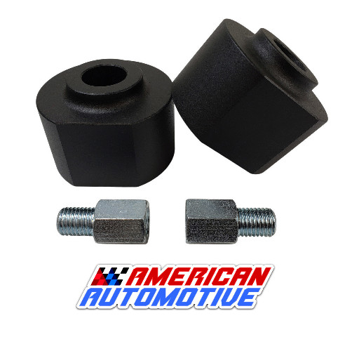 American Automotive 1983-1996 Bronco 2 2WD// 4WD 1-2 Rear Lift U Bolts 11 Extra Long OEM Material