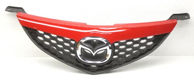 OEM Mazda 3 Sedan Upper Grille BAK3-50-710-11 True Red (Code A4A)