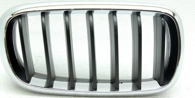OEM BMW X5 Right Passenger Side Grille Scratches 51137294486
