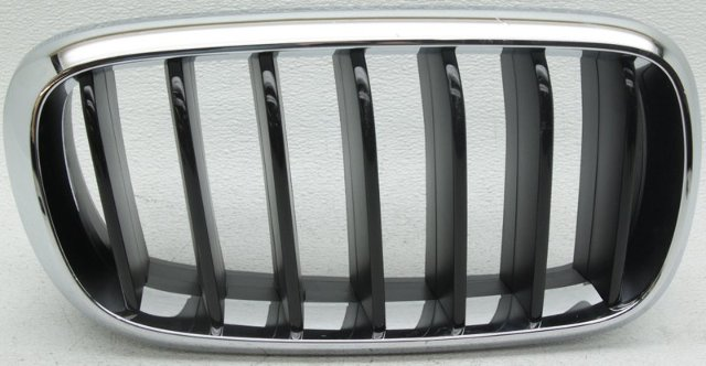 OEM BMW X6 Right Passenger Side Grille Scratches 51137373690
