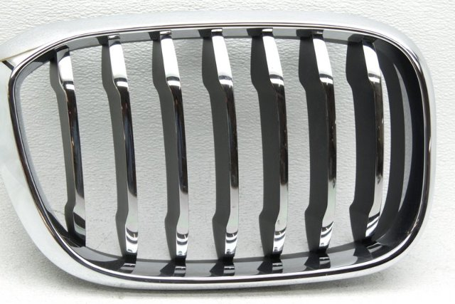 OEM BMW X3 Right Grille Scratches Tab Missing 51137464932-03