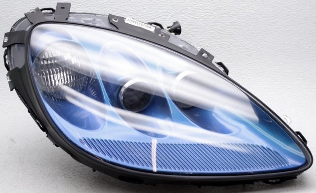 OEM Chevrolet Corvette Right Passenger Side Headlamp Scratches Blue 85U