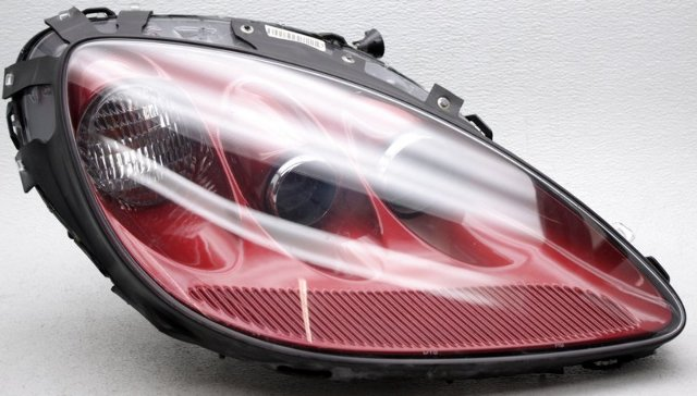 OEM Chevrolet Corvette Right Passenger Side Headlamp Scratches Claret 89U