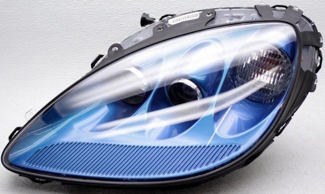 OEM Chevrolet Corvette Left Driver Side Headlamp Scratches Jetstream Blue 85U