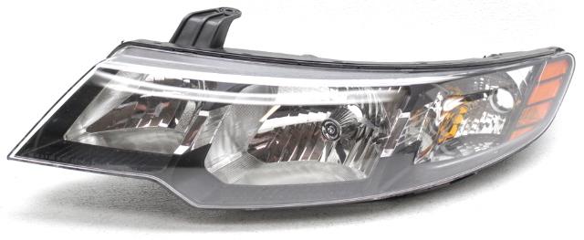 FORTE 10-13 FRONT BUMPER BRACKET LH Upper Coupe//Sedan//Hatchback
