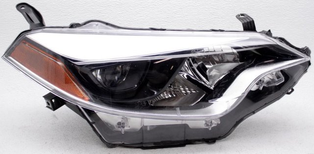 OEM Toyota Corolla Right Passenger Side LED Headlamp Mounts Missing