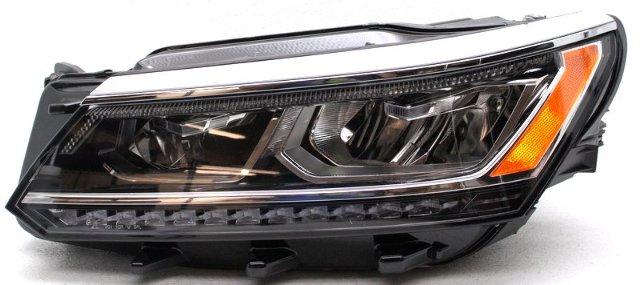 OEM Volkswagen Passat Left Driver Side LED Headlamp Mount Missing