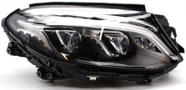 OEM Mercedes-Benz GLE-Series Right Passenger Side LED Headlamp Mount Missing