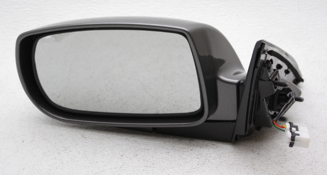 OEM Hyundai Genesis Coupe Left 3-Wire Side View Mirror Dark Gray 876102M100
