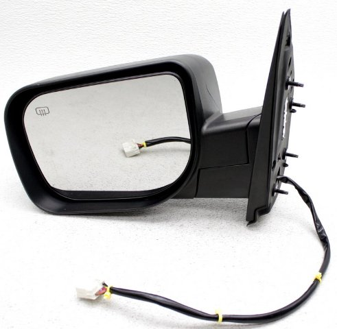 OEM Nissan Titan  Left Driver Side Side View Mirror Scratches.