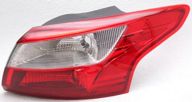 OEM Ford Focus Sedan Right Passenger Side Tail Lamp Chrome Spots