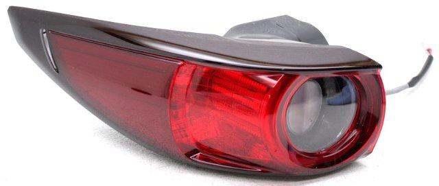 OEM Mazda CX-7 Left Driver Side Halogen Tail Lamp Lens Chip KB8A-51-160D