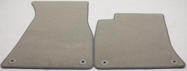 Oem Audi A8 Floor Mat Set 4e1 863 011 D 8c8 Round Grommet Holes Ebay