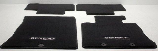 OEM Hyundai Genesis Coupe Floor Mat Set 2M014ADU109P Black