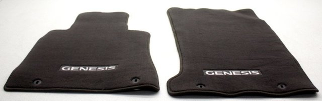 OEM Hyundai Genesis Floor Mat Set B1114-ADU00RNB Chocolate Brown